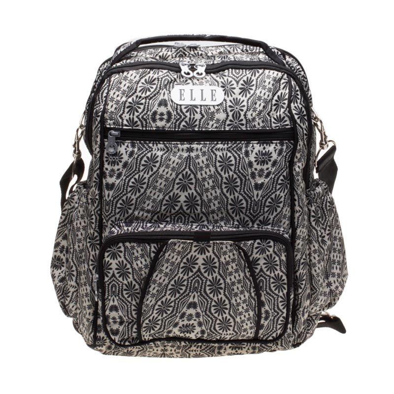 Elle Duos 2 in 1 CA1553-BK Black Diaper Backpack