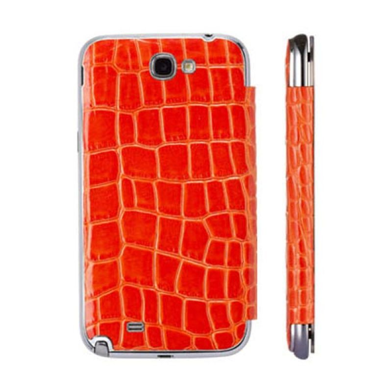 Anymode Mirror Folio Cover Samsung Galaxy Note 2 Orange