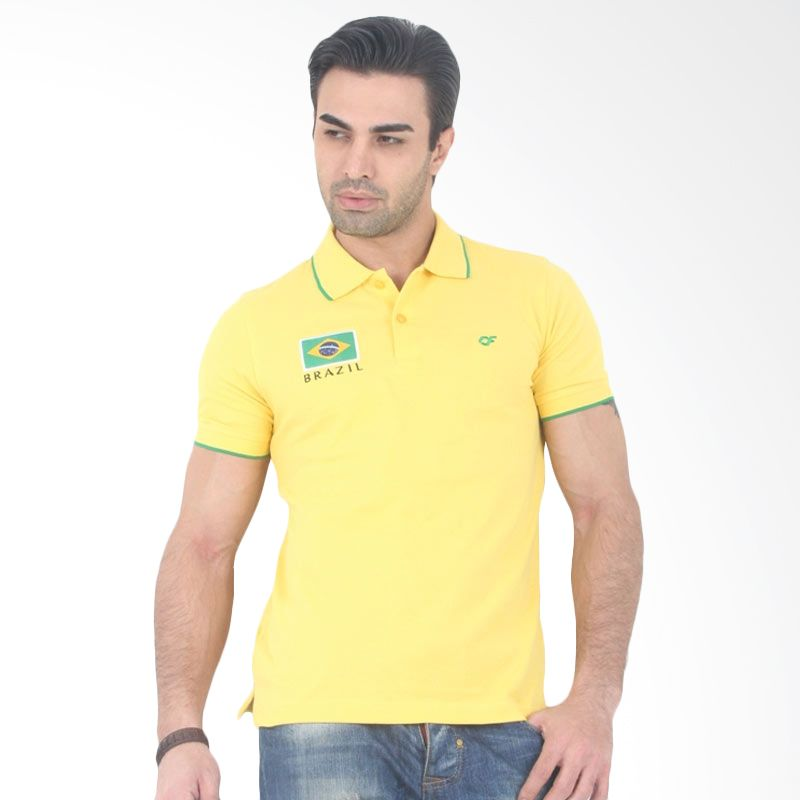 Country Fiesta FIFA World Cup Brazil Yellow
