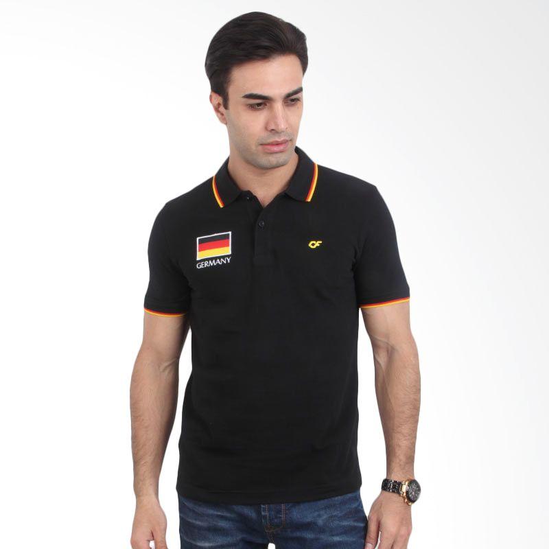 Country Fiesta Polo Shirt FIFA World Cup German Black