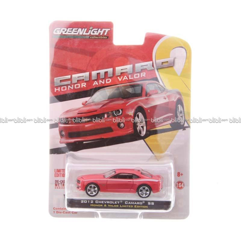 Diecast Greenlight Honor & Valor 2012 Chevrolet Camaro SS