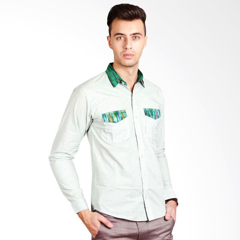 GOMAN Efrain Shirt Light Green