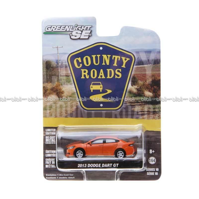 Greenlight Country Roads 2 Diecast 2013 Dodge Dart GT