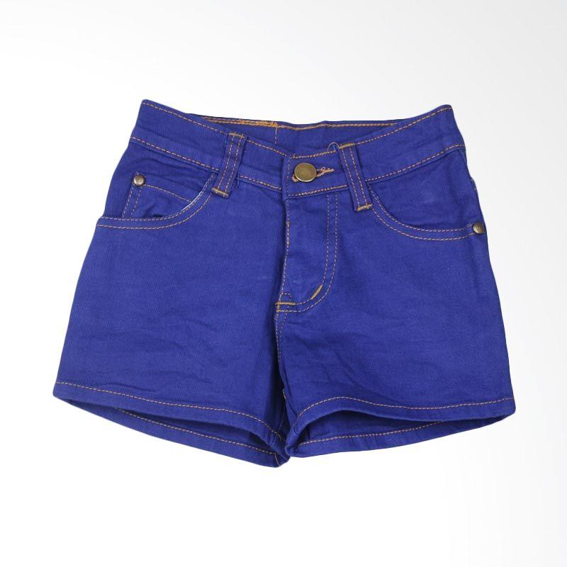 HENGHENG Denim Shorts Dark Blue