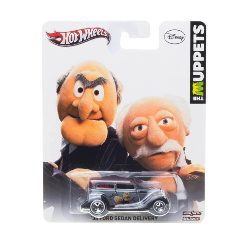 Hotwheels Collector The Muppets 34 Ford Sedan Delivery