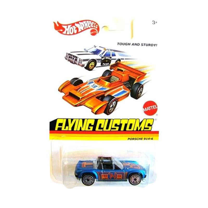 Hotwheels Flying Customs Porche 914-6