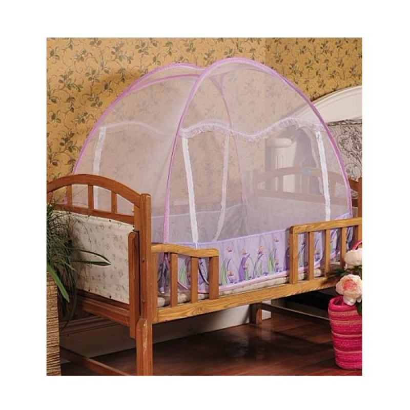 Javan Natural Series Bed Canopy Dragonfly Violet