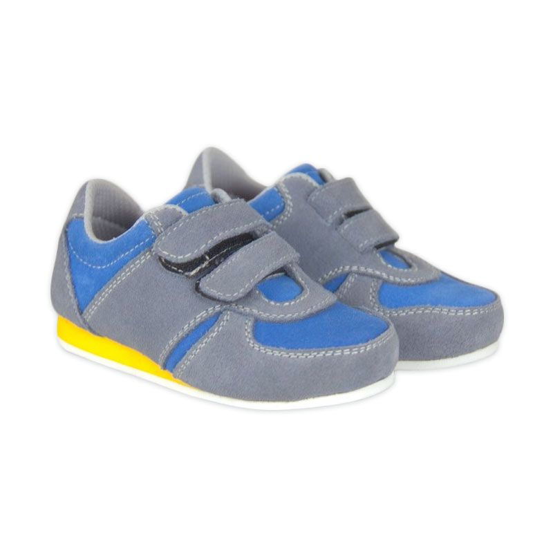 JD Kids Shoes Blue Turbo