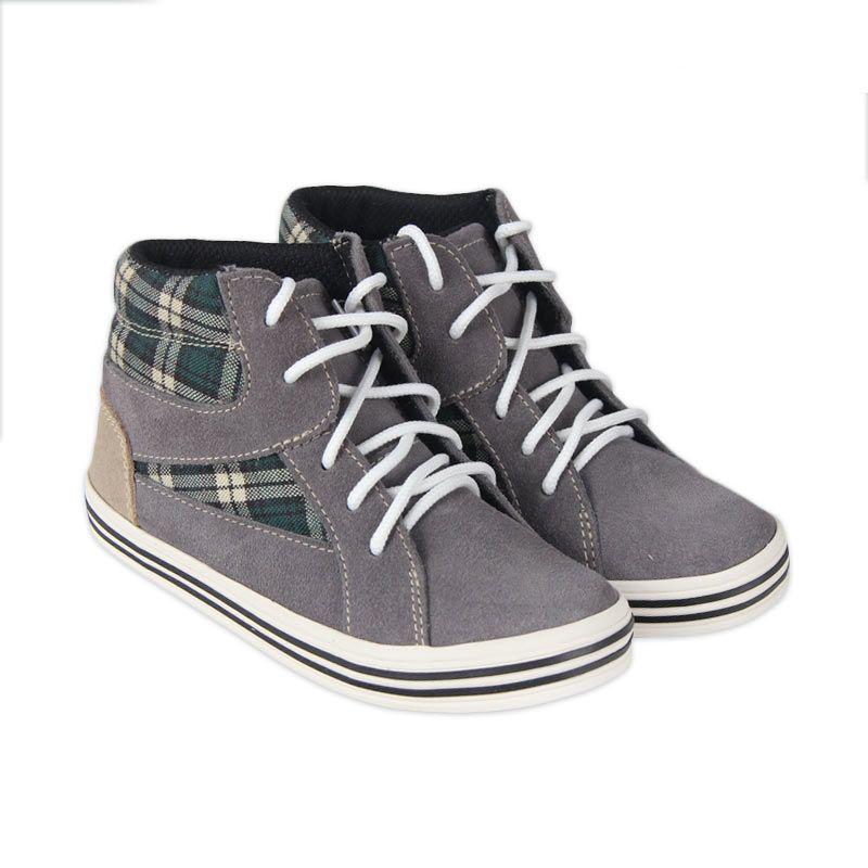 JD Kids Shoes Grey Glow Marty