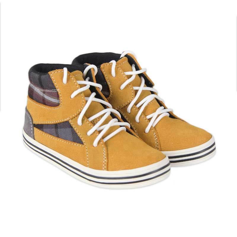 JD Kids Shoes Tan Tuckey