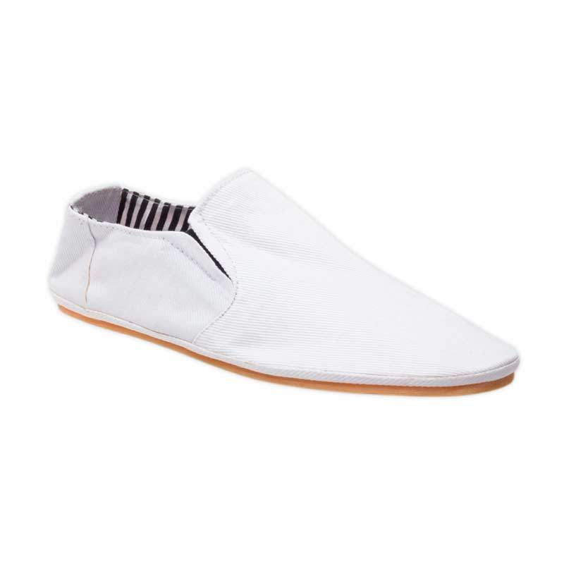 Junkiee Shoes White Canvas - W