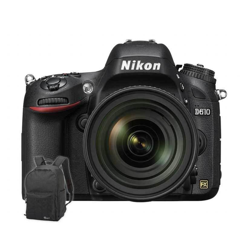 Kamera Nikon D610 Ki...+ Backpack