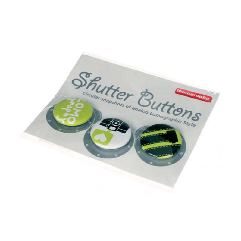 Lomography Shutter Button Green