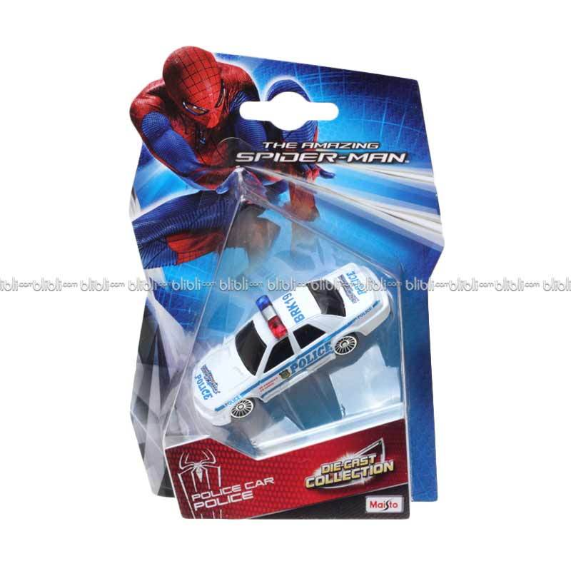 Maisto Diecast The Amazing Spiderman Police Car