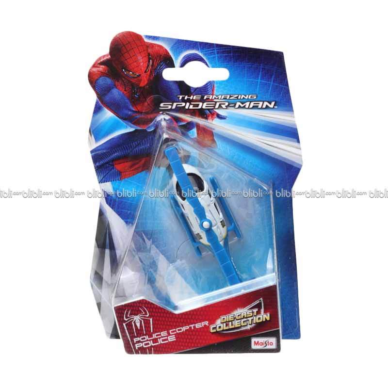 Maisto Diecast The Amazing Spiderman Police Copter