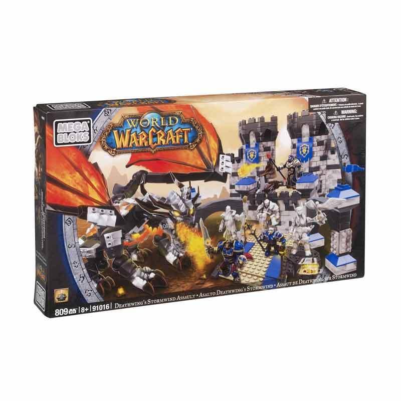 Mega Bloks WOW Deathwings Stormwind Assault