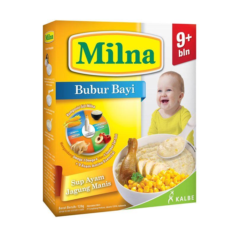 Milna Bubur Sup Ayam Jagung Manis 9+ 120gr