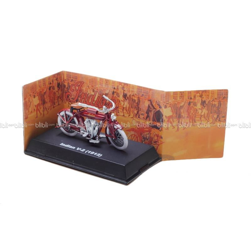 NewRay Diecast Indian Motorcycle V-2 1912