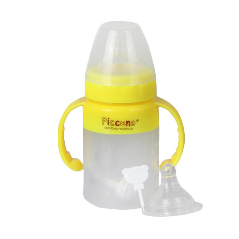 Piccono WD Neck Silicone Bottle Round Grip Auto 150 ml (PO-8509)