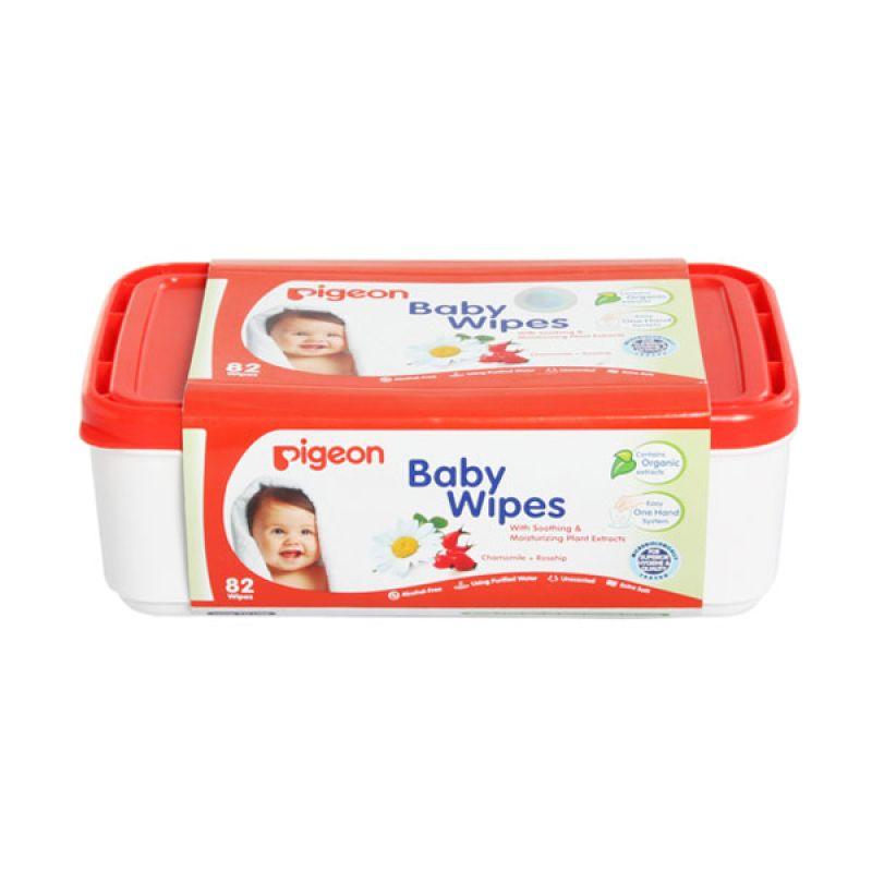 Pigeon Baby Wipes Chamomile 82'S Box