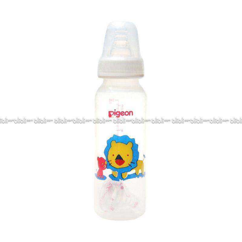 Pigeon Botol PP RP 240ml Singa with S-Type Silicone Nipple