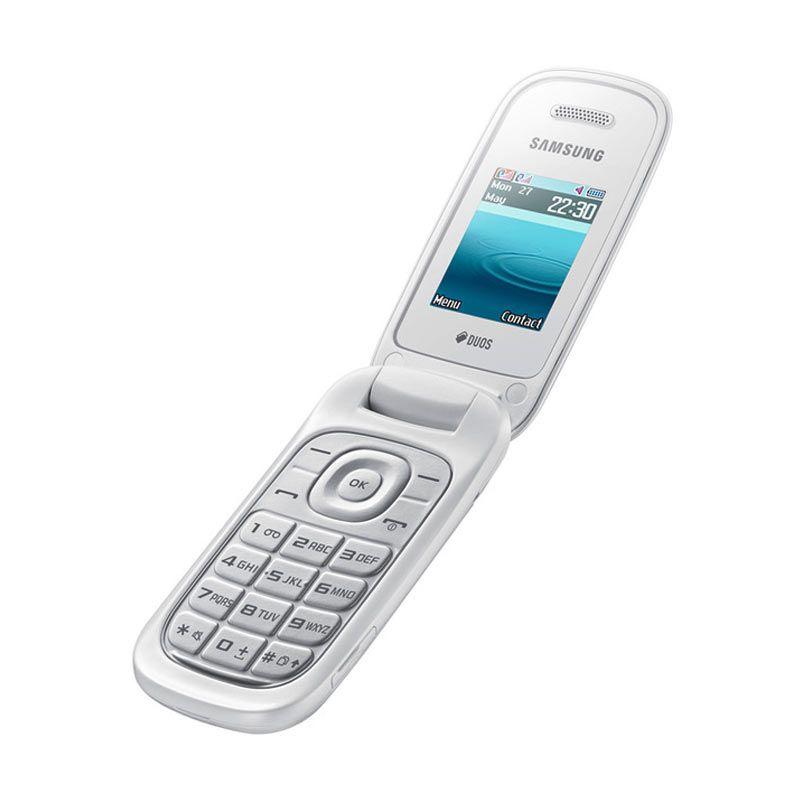 Samsung Caramel E1272 Duos Smartphone - White