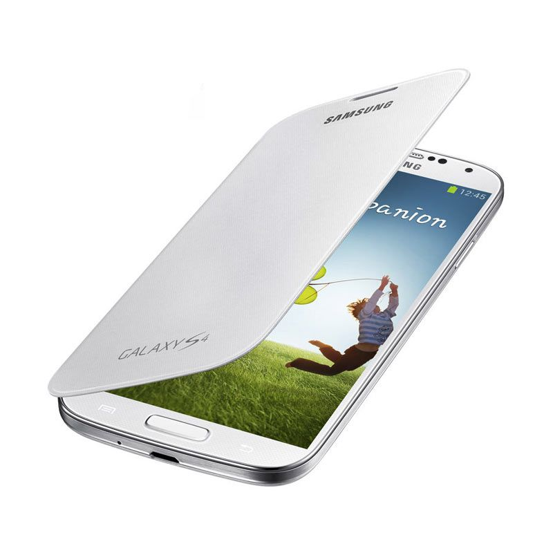 Samsung Flip Cover for Galaxy S4 White