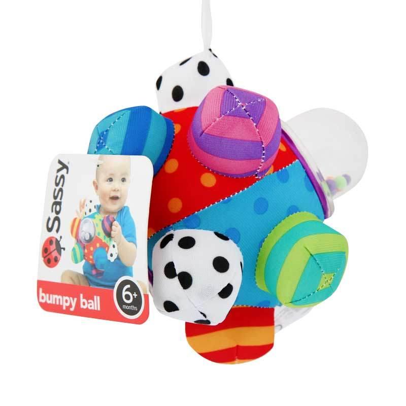 Sassy Bumpy Ball Pegged Card