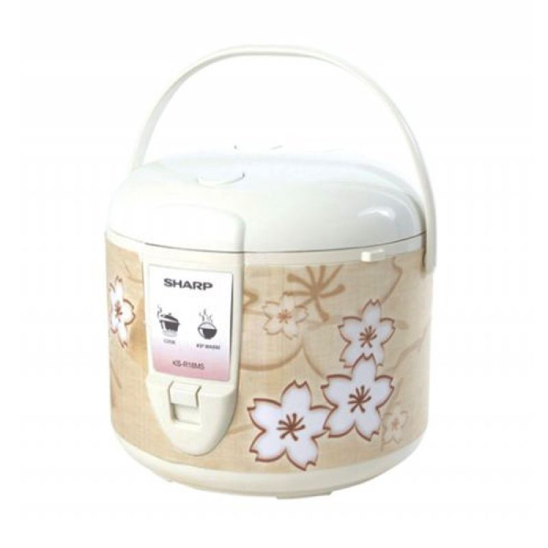 POS INDO - Sharp KS-R18MS Brown Rice Cooker