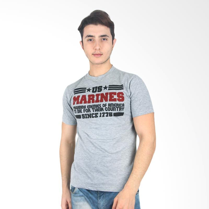 UrbanCo T-Shirt Army 14 Grey