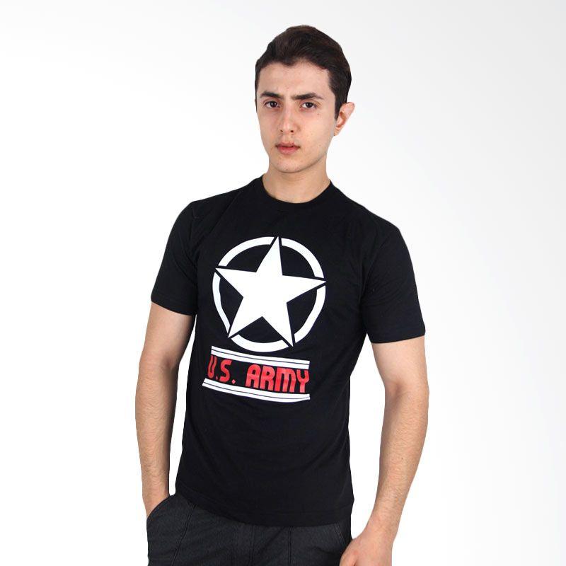 UrbanCo T-Shirt Army 9 Black