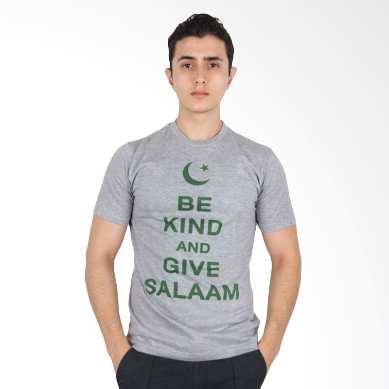 UrbanCo T-Shirt Islamic Kind Salam Grey