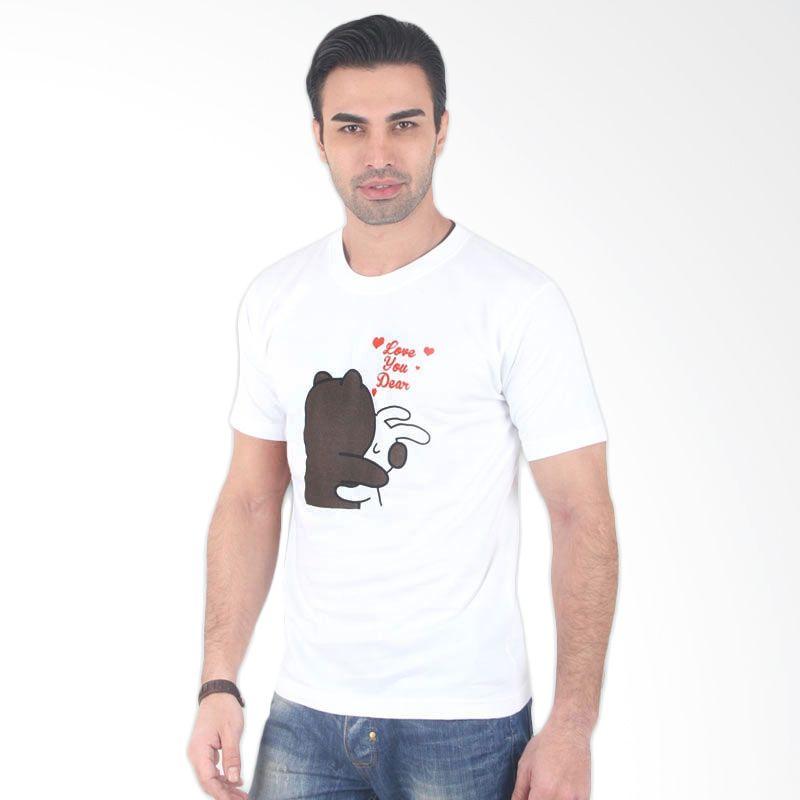 UrbanCo LINE Emoticon T-Shirt 06 White