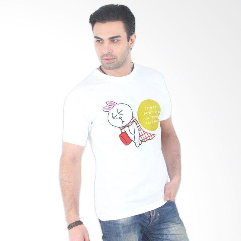 UrbanCo LINE Emoticon T-Shirt 12 White