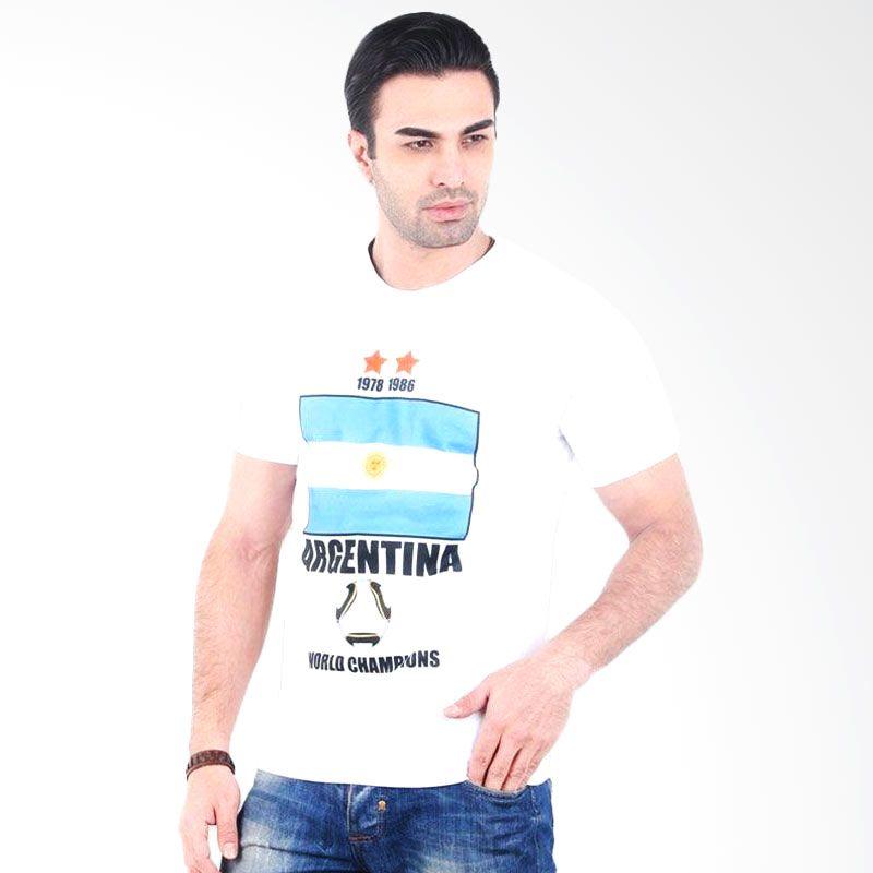 UrbanCo World Cup 2014 T-Shirt Argentina 10 - White