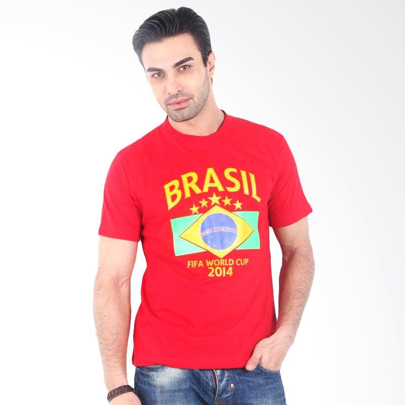 UrbanCo World Cup 2014 T-Shirt Brazil 2 - Red