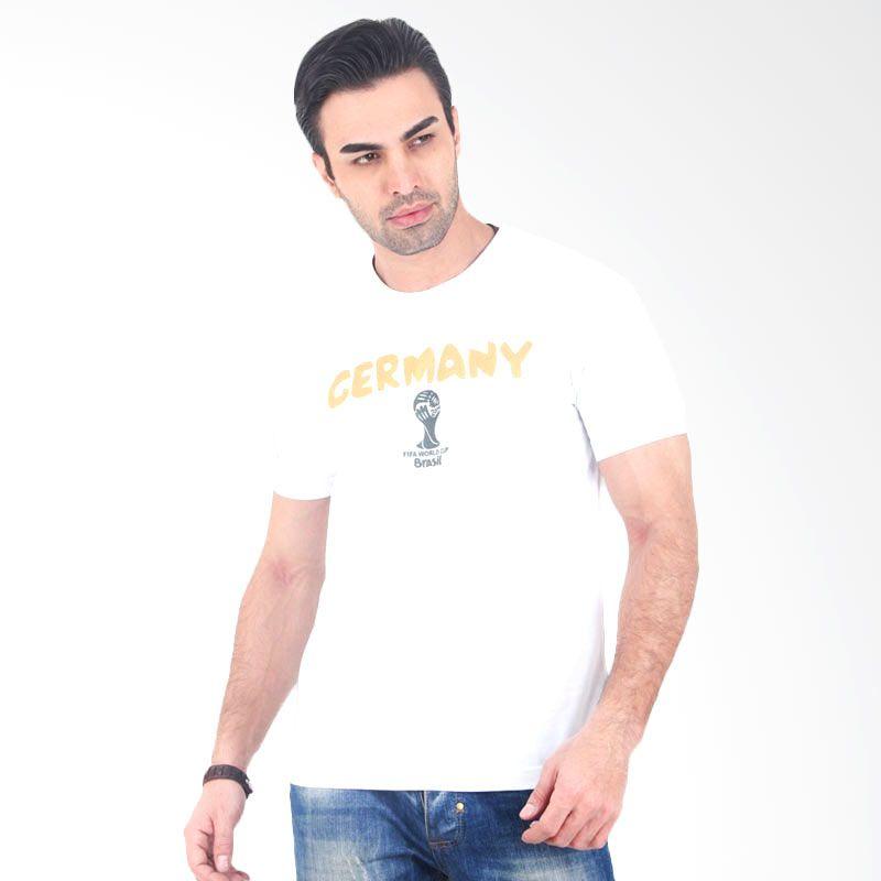 UrbanCo World Cup 2014 T-Shirt Germany 4 - White