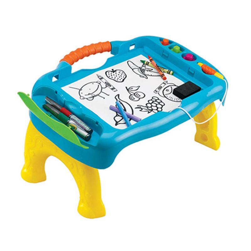 Grow N Up Sit N Draw 5049 Travel Table Meja Anak
