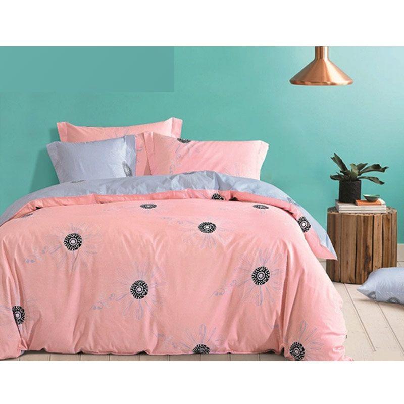 Bloomingdale Irina biru pink Sprei