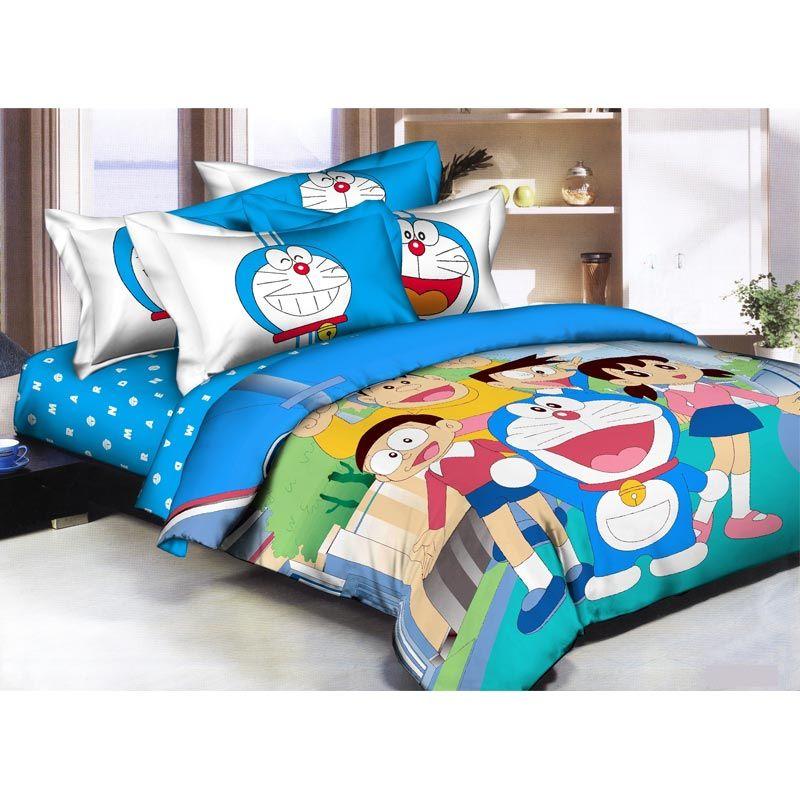 Pantone Doraemon Fun Set Bed Cover