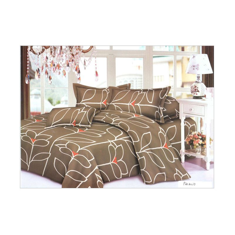 Pantone Palacio King Fitted Set Bed Cover dan Sprei