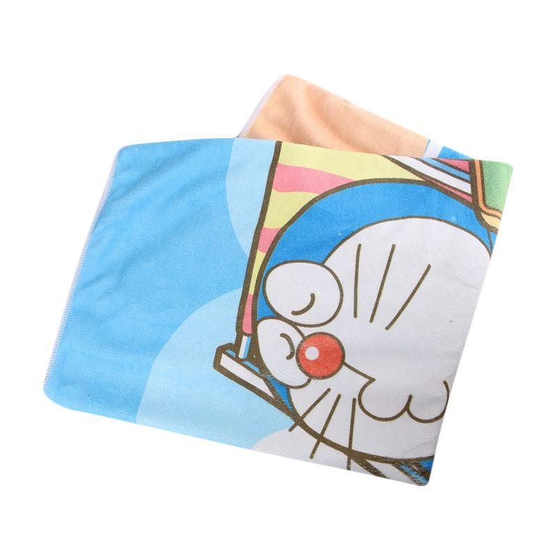 Quickdry Doraemon Beach Bath Towel