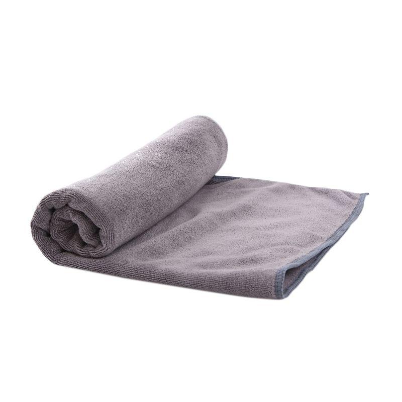 Quickdry Travel Grey Bath Handuk [50 x 100]