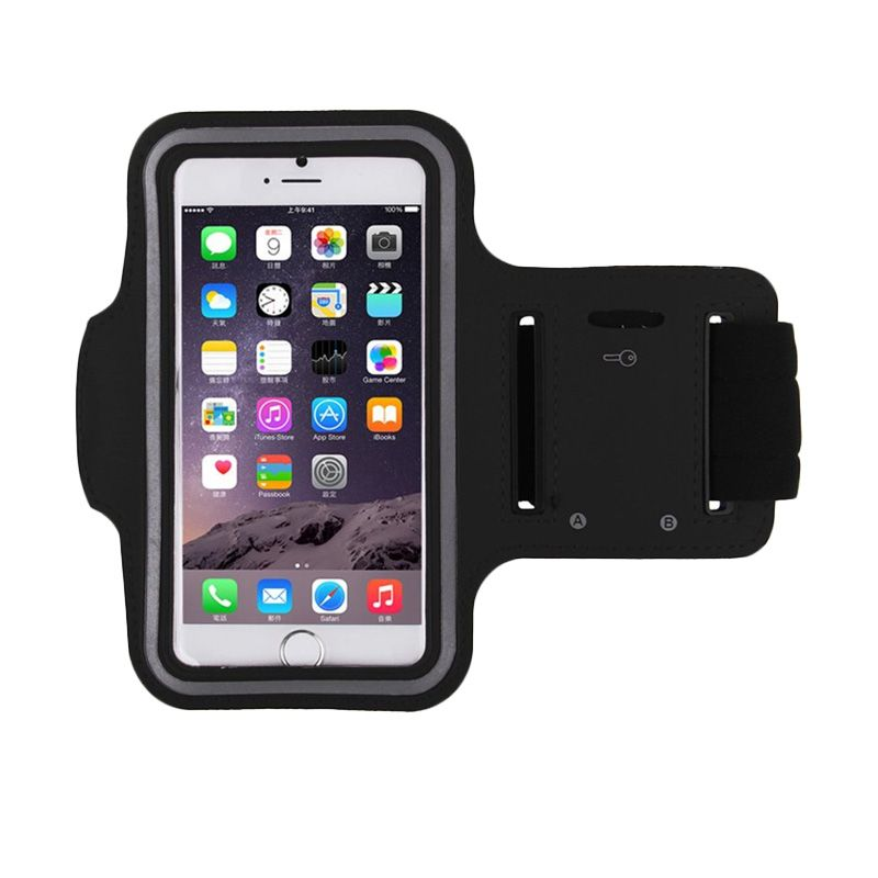 Queen Universal Black Sport Armband Case for iPhone 4 or 5 [Max 4.3 Inch]