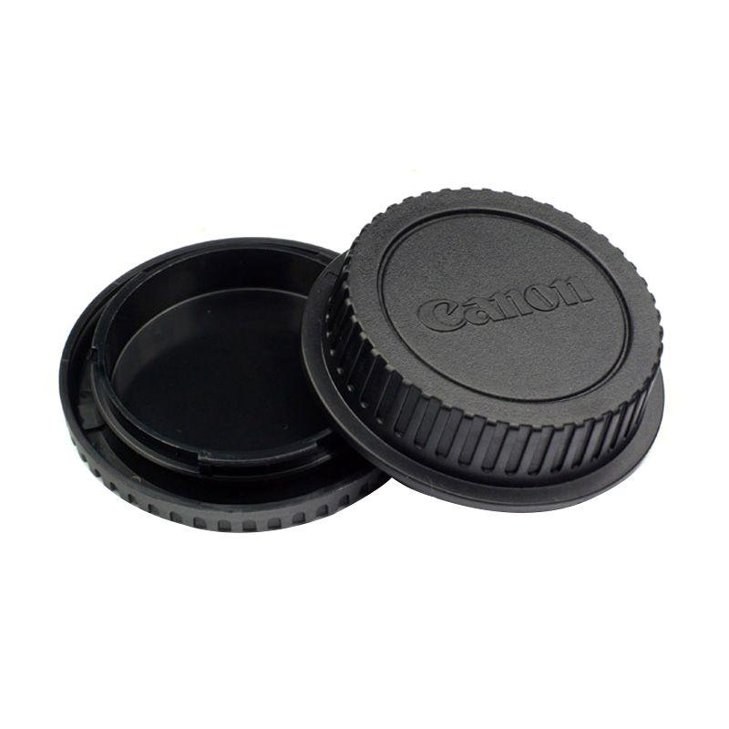harga Canon Camera Body and Rear Cap Cover Tutup Lensa Blibli.com