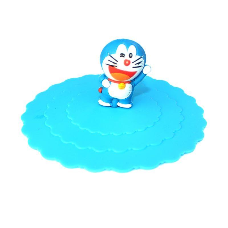 Bluedev1l Doraemon Full Silicon Tutup Gelas