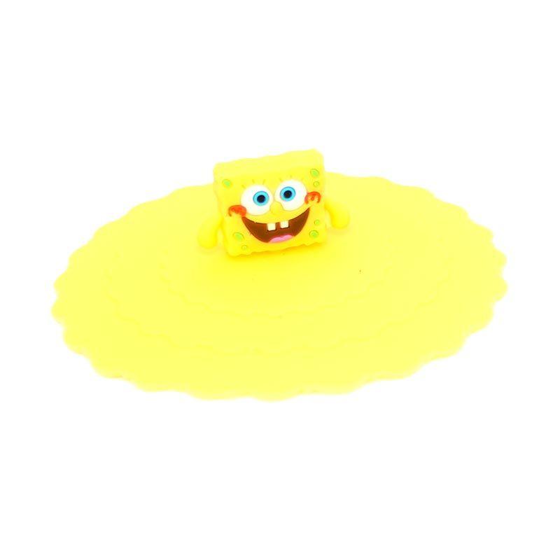 Bluedev1l Spongebob Silicon Tutup Gelas