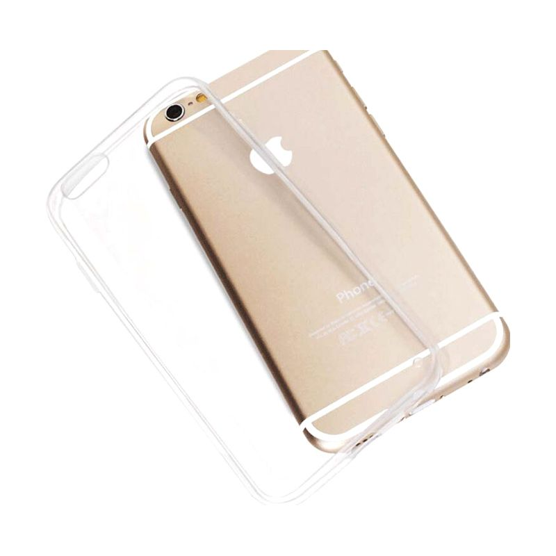 Bluetech Ultra Thin Slim TPU Transparent Softcase Casing for iPhone 6 Plus