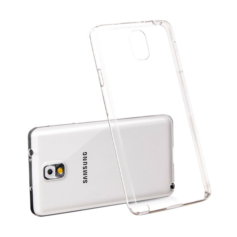 Bluetech Ultra Thin Slim TPU Transparent Softcase Casing for Samsung Galaxy Note 4