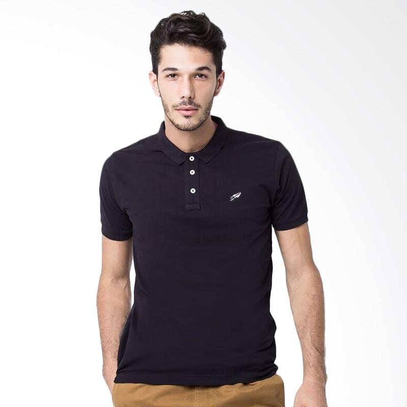BLXS Brolle Polo Shirt Pria - Black Extra diskon 7% setiap hari Extra diskon 5% setiap hari Citibank – lebih hemat 10%